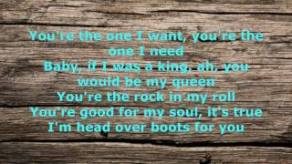 Head Over Boots Lyrics