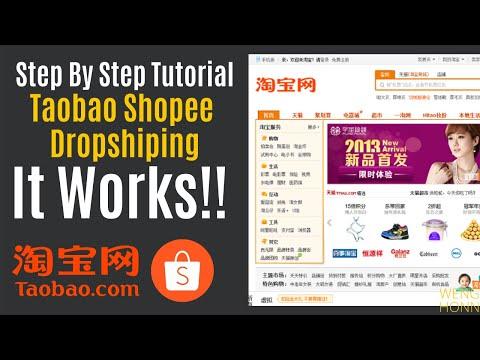 Dropshipping Taobao To Shopee Full Tutorial With Cj Dropshipping l Taobao Shopee Dropshipping
