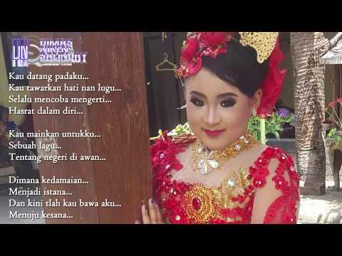 Negeri Di Atas Awan (Katon Bagaskara)  + Lirik Cover By Dimas Niken Salindri