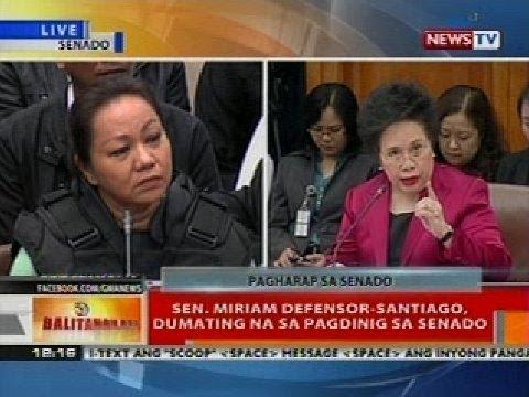 BT: Napoles at Senate pork scam hearing (Nov. 7, 2013) (Part 2)