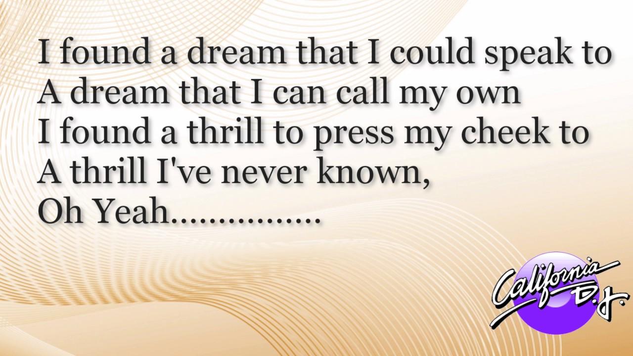 Etta James - At Last Lyrics | MetroLyrics
