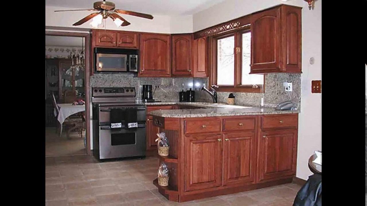 10x12 kitchen design - YouTube