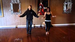 Bachata Footwork & Combo Demetrio April Begining of the Month Workshop Stevens  2012