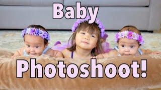 3 MINUTE BABY PHOTO SHOOT! - July 21, 2014 - itsJudysLife Daily Vlog