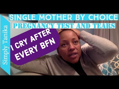 Pregnancy Tests and Tears   I Cry After BFN