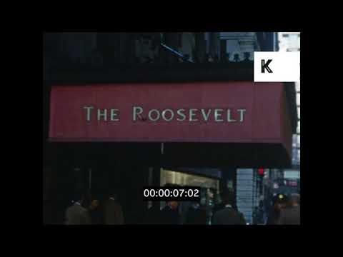 1950s Roosevelt Hotel, New York | Kinolibrary