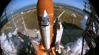STS-51C Launch IMAX Camera Footage HD