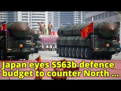 Japan eyes S$63b defence budget to counter North Korea: Nikkei daily