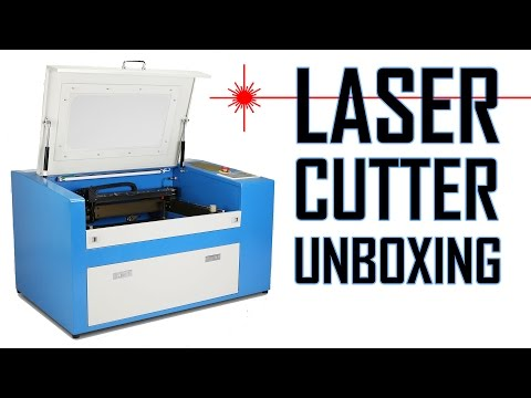 50W Laser Cutter/Engraver Unboxing and Quick Review - YouTube