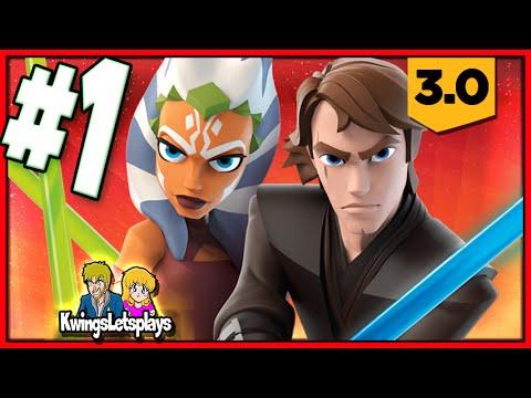 Disney Infinity 3.0 - STAR WARS Part 1 (Assualt on Genosis) Twilight of the Republic Play Set