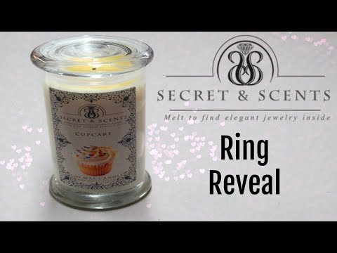 Secret & Scents Ring Reveal - Cupcake Candle!