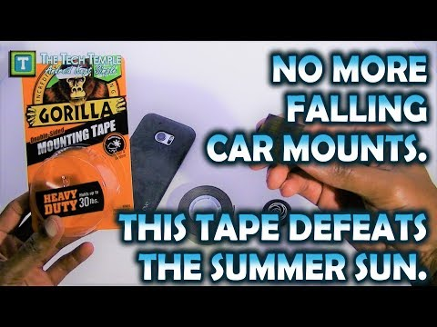 Car Mount Tape That Withstands Summer Heat, No More Falling Off