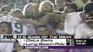 (#1) De La Salle vs (#2) Long Beach Poly [2001]
