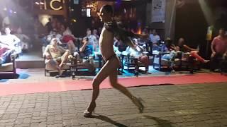 Ночной Патонг улица геев. Phuket Patong gay street pre-party show mix.