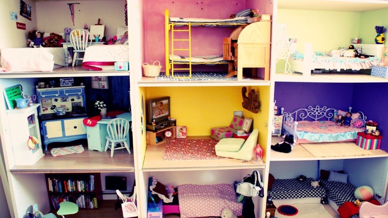 Mini Barbie House Tour