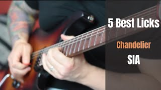 5 Best Licks over Chandelier (SIA) - Rod Rodrigues - TABS AVAILABLE