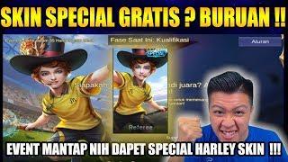 WAH MANTAP SKIN SPECIAL HARLEY GRATIS NIH !! JANGAN SAMPAI KETINGGALAN - Mobile Legend Bang Bang