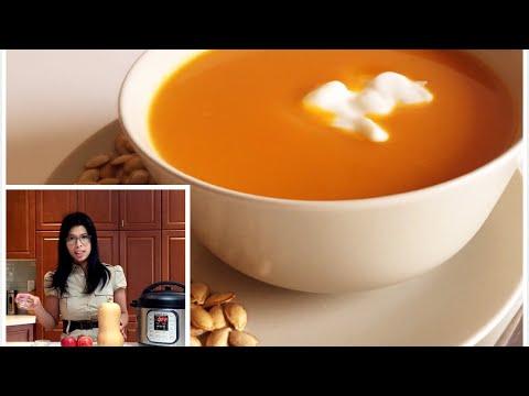 Butternut Squash Soup INSTANT POT Soup INSTANT POT butternut squash soup recipe