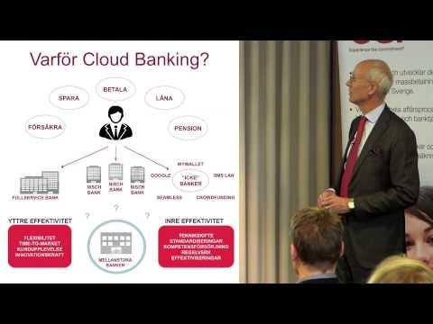 CGI Cloud banking -- Varför Cloud banking?