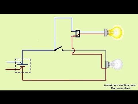 Como poner un enchufe desde un interruptor simplificado - Como poner una mosquitera ...