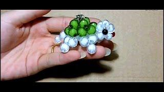 水晶串珠 動物類飾品 小烏龜 (款式2)