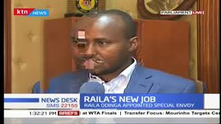 Raila's new job on infrastructure and development