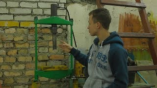 Гидравлический пресс для гаража  DIY[PVS]
