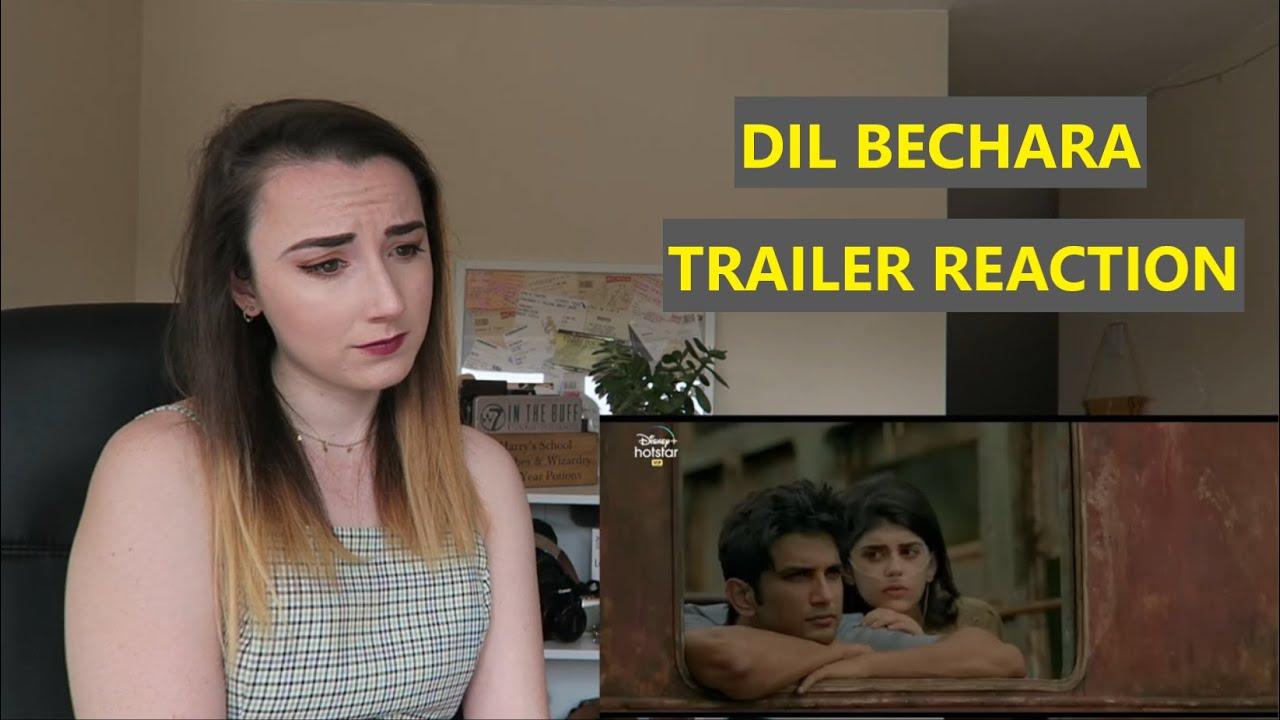 DIL BECHARA Trailer Reaction   Sushant Singh Rajput   Sanjana Sanghi