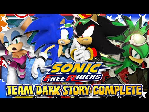 Sonic Free Riders - Team Dark Story COMPLETE w/Bodycam