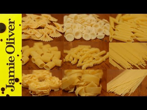The Perfect Guide to Pasta Shapes | The Chiappas