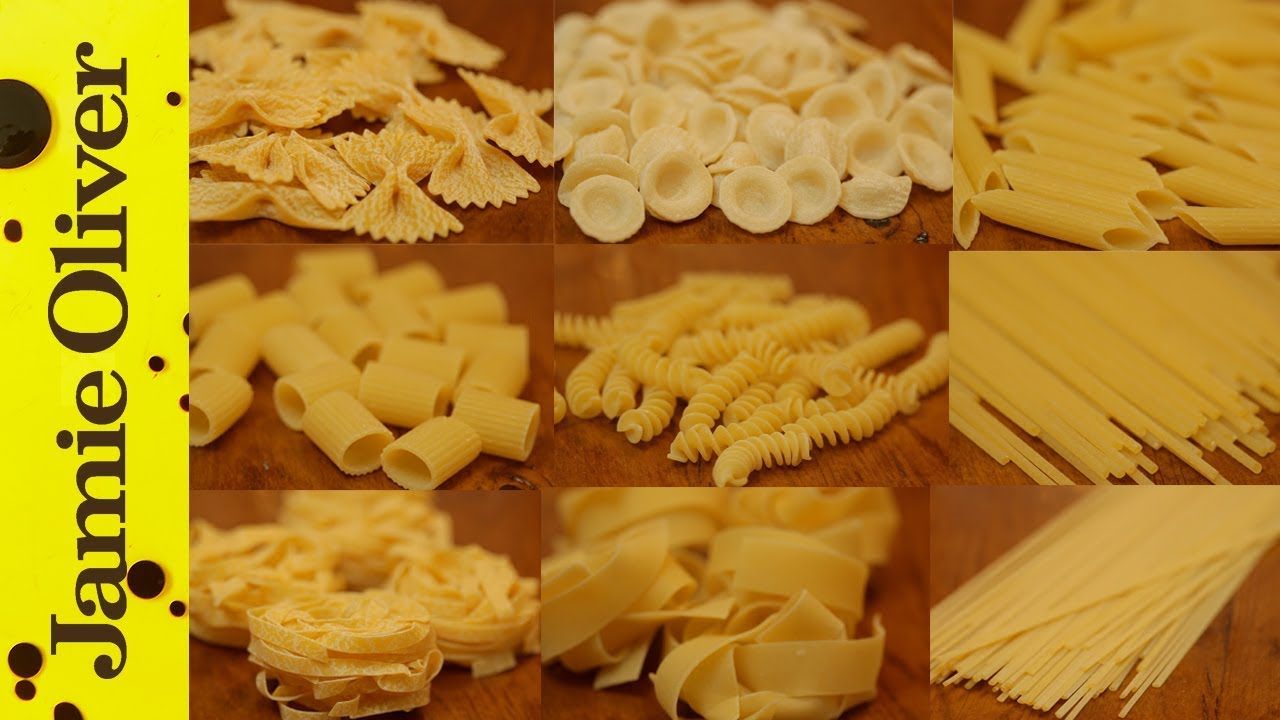 The Perfect Guide to Pasta Shapes | The Chiappas - YouTube