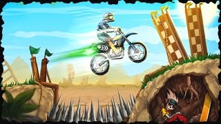 Bike Rivals Great Canyon Full Gameplay All Levels