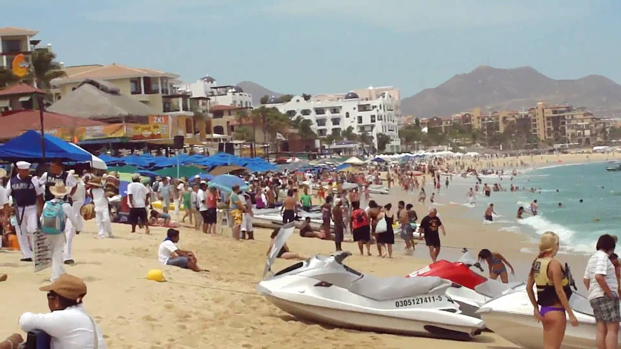 Medano Beach In Los Cabos Mexico