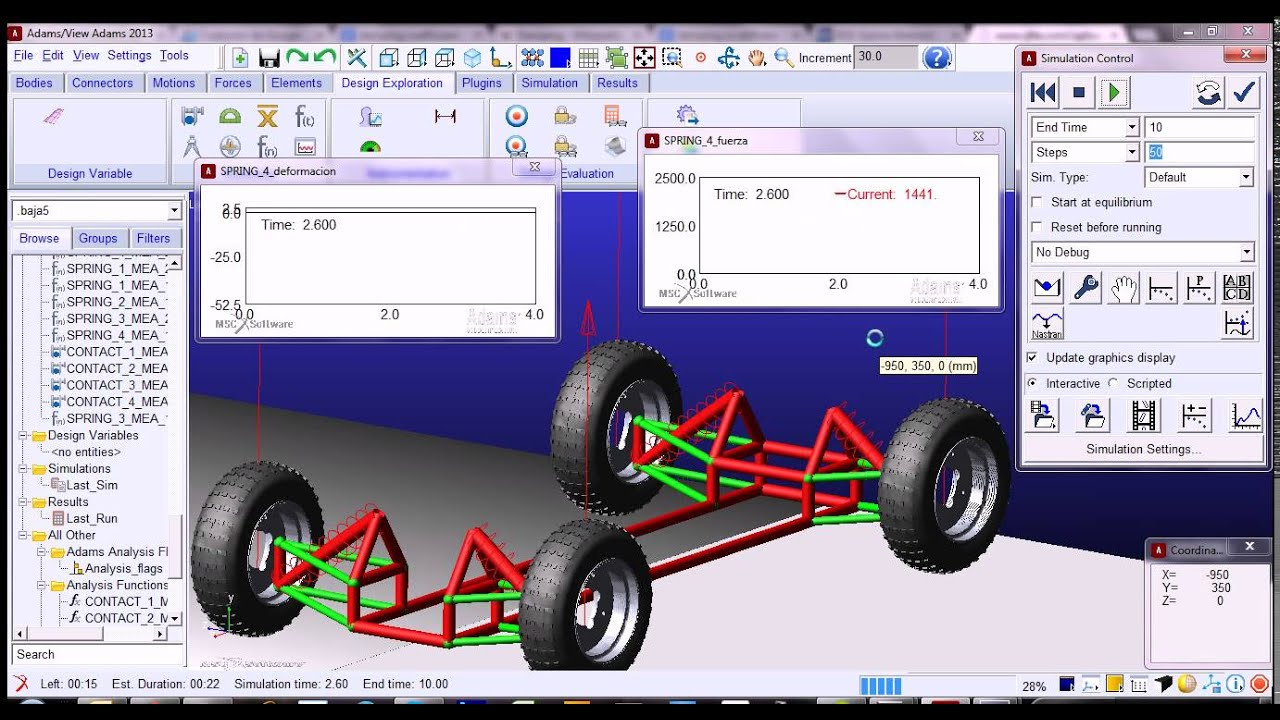 Adams Suspension Design Software