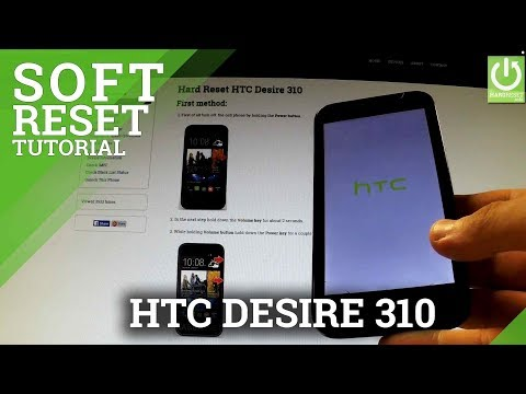How to Remove the Battery in HTC Desire 310 - How to Soft Reset HTC Desire 310