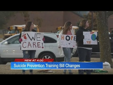 Proposed Kansas law would cut back suicide prevention training in schools