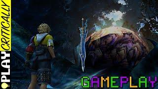 Final Fantasy X HD Remaster Gameplay 12 — Celestial Weapons: Tidus, Auron, Kimahri, Rikku