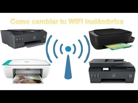 Como cambiar WiFi inalámbrica por una nueva🕵️♀️ en impresoras Hp🖨 410, 415, 515, 519, 530, 533, 615