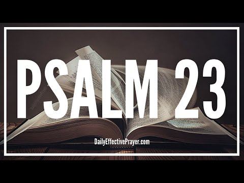 The Lord Is My Shepherd - Psalm 23 (Audio Bible)