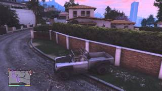 Grand Theft Auto 5 - Officer Speirs - The Batmobile