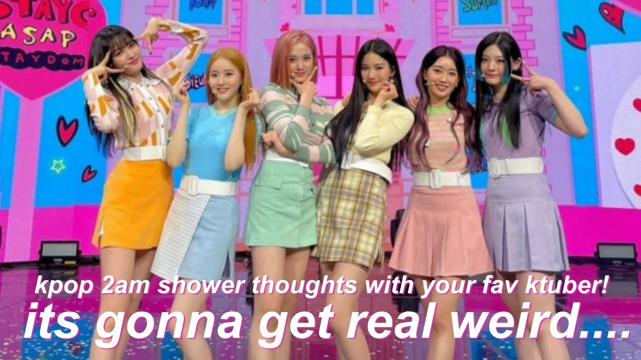 Download weird kpop thoughts with your fav ktuber