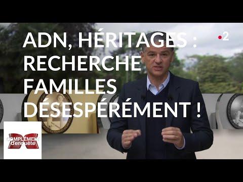 Complément d'enquête. ADN, héritages : recherche familles désespérément ! - 25 avril 2019 (France 2)