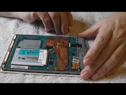 Replacement Of Reader Screen Sony PRST1 / PRST2