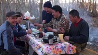Весенняя охота на уток на островах Лены