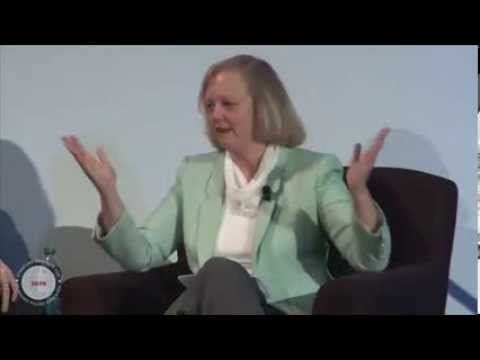 John C  Martin and Meg Whitman -- SIEPR Economic Summit 2012