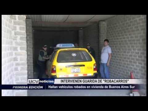 Víctor Larco: Intervienen vivienda donde ocultaban autos robados