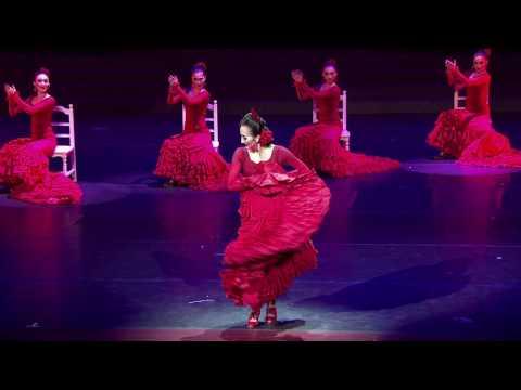 Carmela Ziding 火热的飞裙 Alegrías de Bata - China Oriental Performing Arts Group