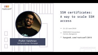 SSH Certificates: a way to scale SSH access