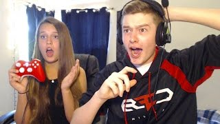 One of FaZe Blaze's most viewed videos: MY LITTLE SISTER HITS A TRICKSHOT!!
