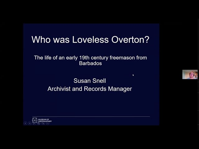 Museum of Freemasonry - Who was Loveless Overton?